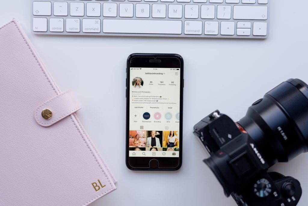 Beth Lavin Branding Instagram