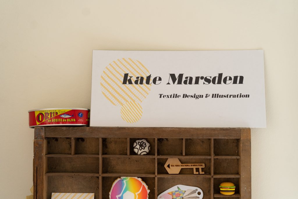 Kate Marsden textile designer and illustrator