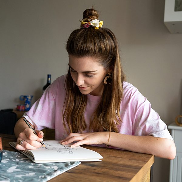 Small Business Photoshoot Dulwich | Lady Garden Illustration