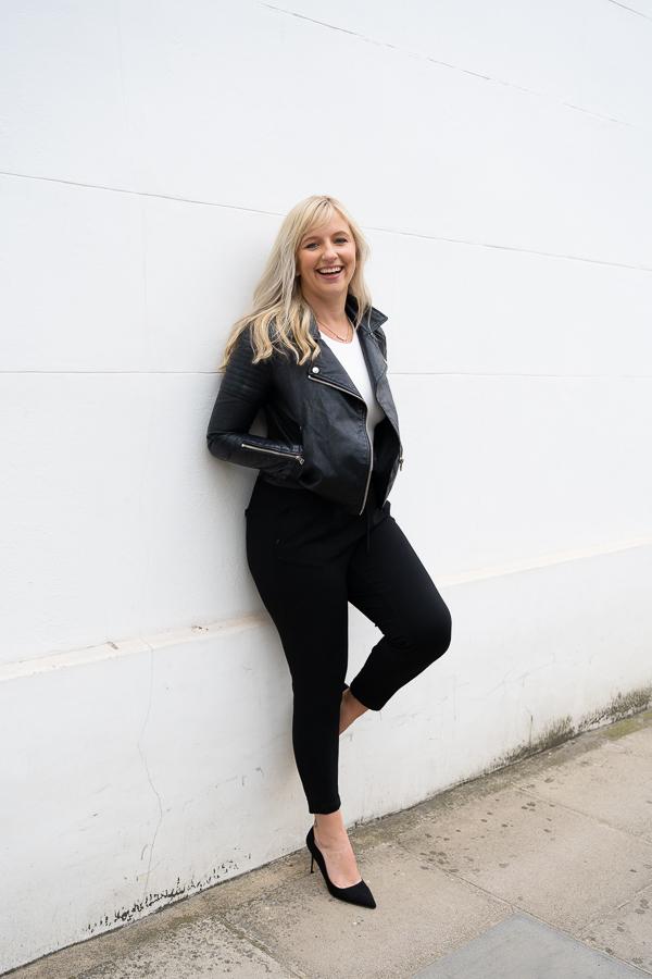 female entrepreneur photoshoot in Chelsea