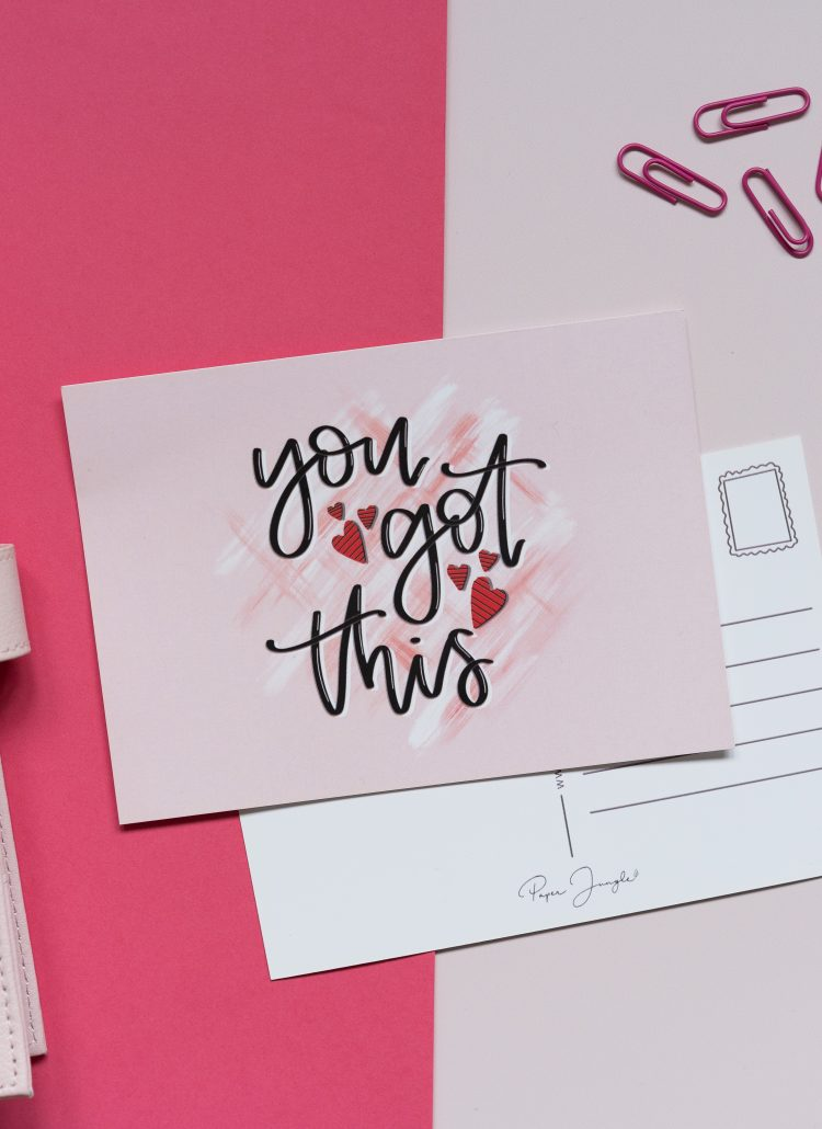 motivational quote card lifestyle photography