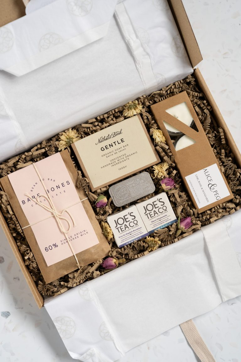 product photography for beauty subscription brand